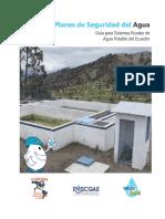 Planes de Seguridad del Agua (PSA) en Ecuador