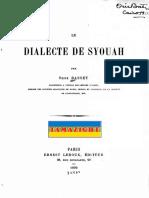 Le dialecte de Syouah.pdf