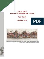 Eid Al Adha Fact Sheet Copy
