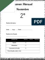 Noviembre - 2do Grado 2018-2019