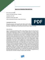 Exposicion de Prision Preventiva