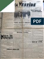 Buna Vestire anul I, nr. 61, 7 mai 1937