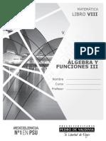 Algebra y funciones III (libro + ejercicios) - PDV 2017