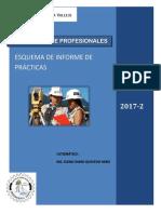 Modelo de Informe de Practicas