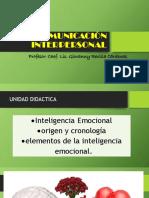 Comunicación Interpersonal Clase 11