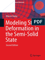 Modeling Steel Deformation in the Semi Solid State