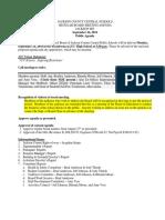 JCC Board Sept. 24 Agenda