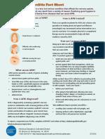 Acute Flaccid Myelitis Fact Sheet