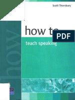 Thornbury_How to Teach Speaking