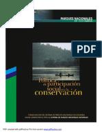 POLITICA DE PARTICIPACIÓN SOCIAL EN LA CONSERVACIÓN