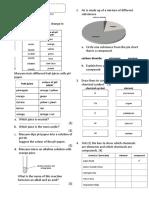 Exercise Acid, Alkali, element, Compound, Mixture, pH