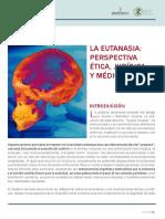 La Eutanasia. Perspectiva Ética Jurídica y Médica