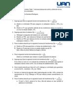Sistemas de Control  Automático Taller 1.docx