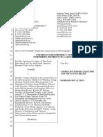 ACLU Asylum Lawsuit