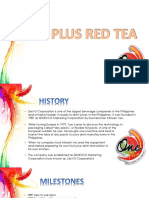 ONE RED TEA