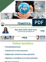 Presentación CICITIE 2018 Maria Esther Cabral