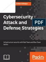 Cybersecurity Attack and Defence Strategies