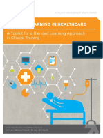 Lambda Solutions Blended Learning in Healthcare a Toolkit for a Blended Learning Approach in Clinical Training