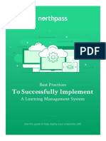 Northpass Best Practices to Successfully Implement a Learning Management System