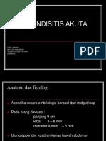 Case Appendicitis Dr.alin