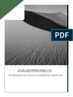 Análisis Petrofísicos- G