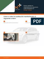 Como Cambiar El Rodamiento de Cubo de La Rueda Delantera en Dodge Caliber