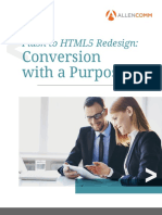 Allencomm Flash to HTML5 Redesign Conversion With a Purpose