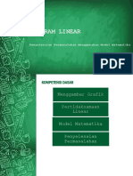 Presentasi Matematika Kelas X Program Linear