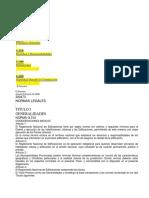 Rne- Titulo i Generalidades