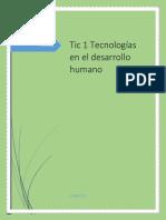 Tecnologias en El Desarrollo Humano
