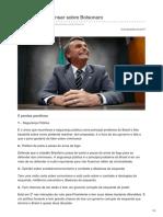 Afolhacarioca.info-5 Pontos a Se Pensar Sobre Bolsonaro