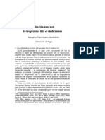 Fuenteseca-La Función Procesal Del Praede Litis Et Vindiciarum