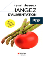 Pr Henri Joyeux - Changez d'Alimentation