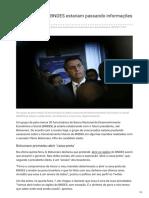 Br.financas.yahoo.com-Funcionários Do BNDES Estariam Passando Informações a Bolsonaro
