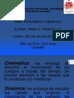 Movimiento Cinematico