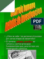 Desarrollo Humano Metodos de Investigacion