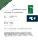 Aditya Banerjee Et Al., 2018 - Trapézio de Sulfeto de Hidrogênio Melhoria Do Estresse Ambiental e Fitohormônio Crosstalk