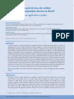 [ARTIGO PUB.] Sistema de classificação de risco de crédito - uma aplicação a companhias abertas no Brasil.pdf