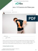 Dor Lombar Crônica_ 10 Exercícios de Pilates Para Tratamento