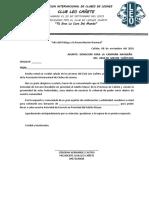 Oficio n 001 018 Club Leo Cañete