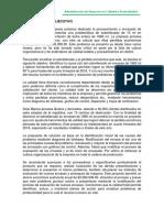 Evidencia 3. Reporte Ejecutivo Calidad
