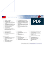 Tma Country Navigator-taiwanese Mindset Map