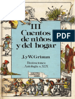 Hermanos Grimm - Cuentos de Niños y Del Hogar Tomo III