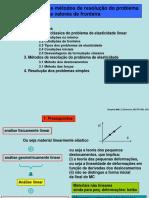 Definição e métodos de resolução do problema  de valores de fronteira