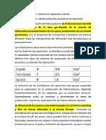 6.1. Operación y Diseño Integral de Una Bateria de Separación