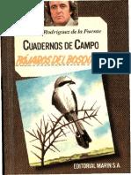 Cuadernos de Campo 08 F R de La Fuente Pajaros Del Bosque I Marin 1978