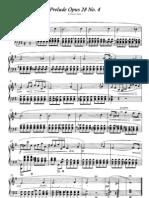 F.Chopin Prelude Op.28 Nº4
