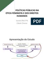 GÊNERO E POLÍTICAS PÚBLICAS NA ÓTICA FEMINISTA