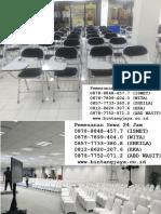 Sewa Kursi Kuliah Dan Sewa Meja VVIP,  0878-7752-0712