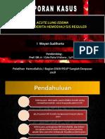 Kasus Akur Lung Edema 1
